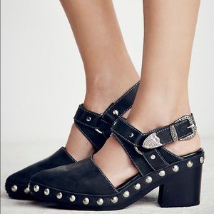 Jeffrey Campbell x Free People Winchester Heels